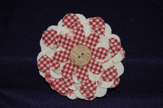 Flower Folds Pin