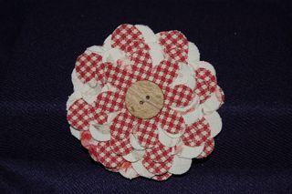Flower Folds Pin